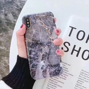 NEW iPhone X/78+ Shining Marble iPhone case